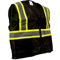 Enhanced Visibility Vest, Black   GSS