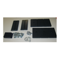 Jerr Dan rollback wear pad kit that fits AWL, AVP and SVP carriers manufactured 1987 through September 1994.