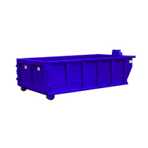 Roll Off Dumpster | 16 Yard Container 14 ft Long x 54 in Tall in Blue