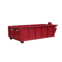Roll Off Dumpster | 16 Yard Container 14 ft Long x 42 in Tall in Red