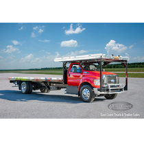 4-Car Carrier | 2019 Ford F-750 & Jerr-Dan 28x96 in Red | Stock# 10364N