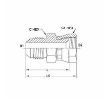 10 R6X-S Triple-Lok Hydraulic Fitting | Parker