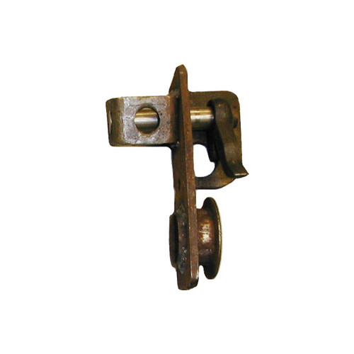 Quick release ratchet bracket holds your pawl, spring, and your roll pin in place so as you torque down your load it will keep the tension on your chain 96807-L/H,COT,Cottrell