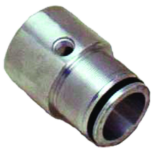 "Aluminum packing nut is for Cottrell cylinders. This piece would go on the end of the cylinder were the rod would come out to extend the decks. The center hole would fit an 1 ½"" rod with a bore size of 2"" (actual size of cylinder is 2 ½"".) All of"