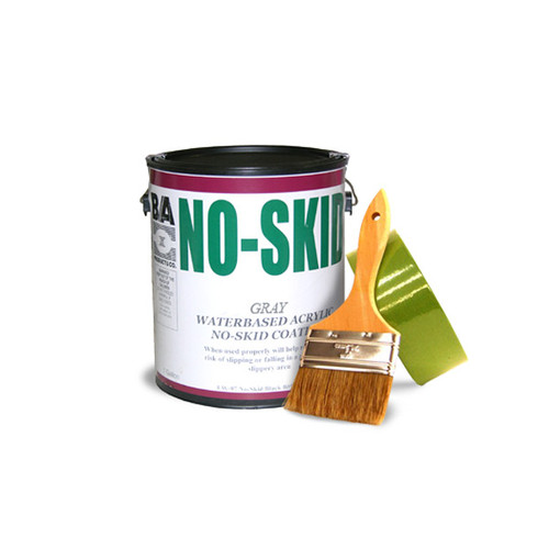 This Modified Alkyd Enamel Is Formulated As A Specialty Coating To Provide Adequate Traction For Safe Walking  High Performance Coating, Dries To An Excellent Color And Gloss  Flexible, Corrosive, Resistant And Durable  Covers Approximately 350-400 Square