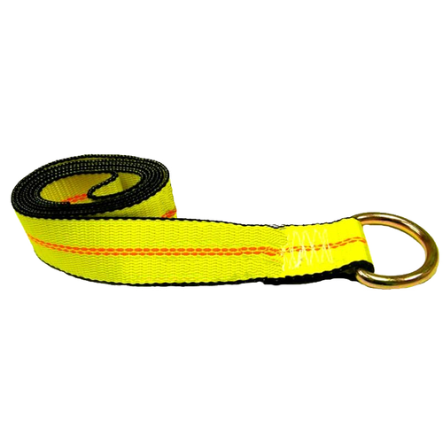 Protect unusual cars with this ECTTS Tie Down Strap. Specially designed for exotic vehicles with low-profile wheels and tires, it has a D-ring to keep the strap tight and ensure the vehicle is transported safely.