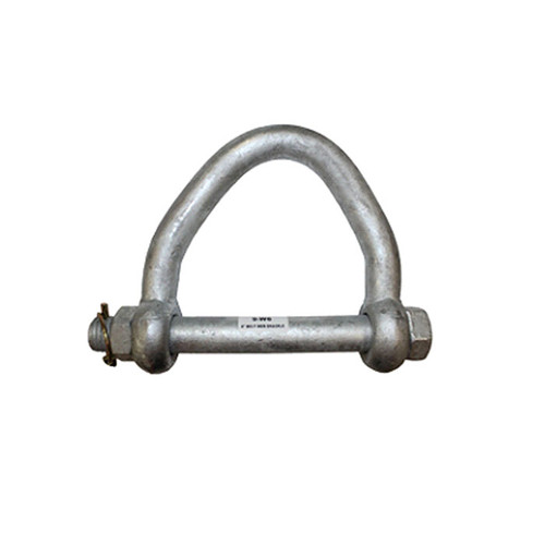 Heavy Duty Web Shackle - 3 in. Strap Eye