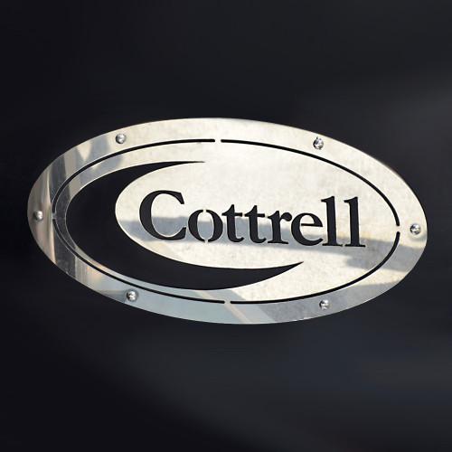 Cottrell Mud Flap Logo  - Make your car hauler look great!