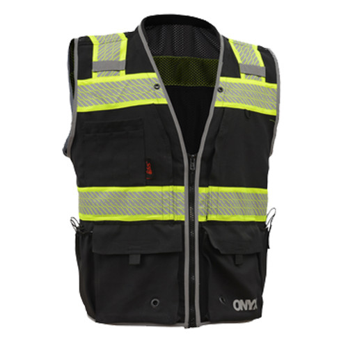 Details about  /High Visibility Safety Vest Mesh Cloth Workwear Reflective Tape Jacket