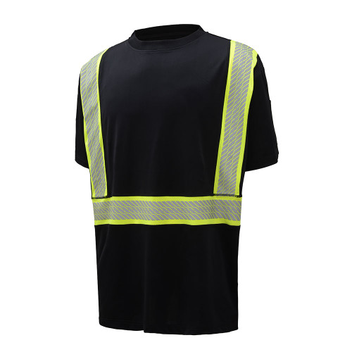 GSS ONYX C2 Short Sleeve T-Shirt, Snag Proof, Black