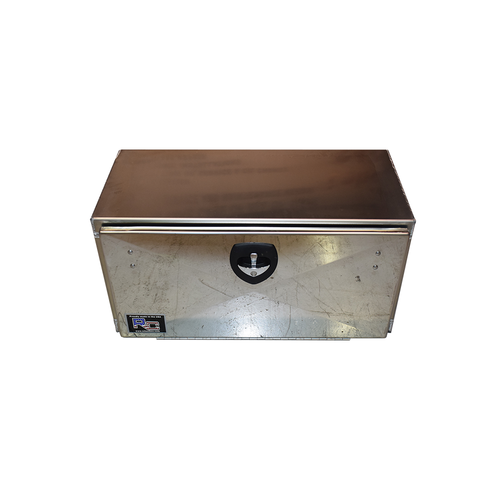 Aluminum Toolbox  w/Stainless Door   36 inches wide