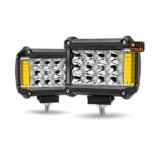 Built in Amber 4 Pulse Strobe Function 3 Function LED Work Light (Beam & Strobe | Beam | Strobe) Lifetime of up to 30000 Hrs