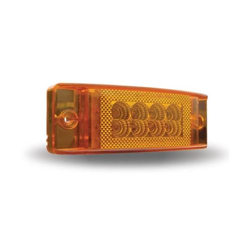 2 in. x 6 in. Multi-Directional Trailer Marker Light | 24 LED, Amber
