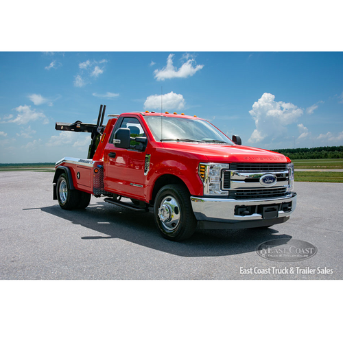 Wrecker   2019 Ford F-350 & Jerr-Dan MPL-NG in Red   Stock#9679N