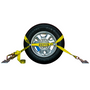 BA Products 8-Point Tie-Down System - 14ft Straps w/ Chain, & Ratchets w/ Chain