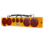 This amazing, easy to install 36 in. Wireless Tow Light provides stop, tail, and turn with side marker lights and three DOT center lights.