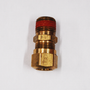 Keep your rig's air brake line in good shape and leak-free with this Parker Air Brake Compression Fitting. This male connector has a ribbed sleeve with pre-applied sealant on the thread, connecting your air brake hose securely in place. | OEM Part Number: VS68NTA-10-8