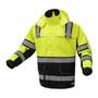 GSS ONYX C3 Ripstop Rain Jacket, Lime