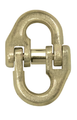 G70 chain is specifically designed for cargo securement, also called Transport Chain and Grade 70. G70 assemblies have a yellow zinc finish for easier identification and for protection of the chain.