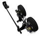 In the Ditch Dolly in an all-in-one mount that holds a speed dolly frame, axle and break over bar.