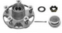 Axle Hub for Collins Dolly Systems | Aluminum