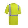 Hi-Vis Short Sleeve Shirt, Lime | GSS Class 2