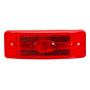 MAXXIMA LIGHT 2X6 RED   W/ REFLECTOR