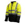 Hi-Vis Softshell Waterproof Jacket | Xploro