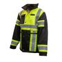 Hi-Vis Heavy Denier Waterproof Jacket | Xploro