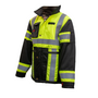 Hi-Vis Heavy Denier Waterproof Jacket | Xploro
