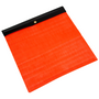 18 in. x 18 in. Orange Safety Flag w/Vinyl Belt | ECTTS