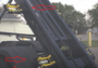 Four points to securing a large dumpster container.