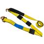 2 in. Wide Car Hauler Replacement Strap | 12 ft w/ Swivel J Hooks