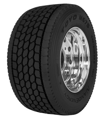 Toyo introduces long haul drive and trailer tires designed for fuel efficiency