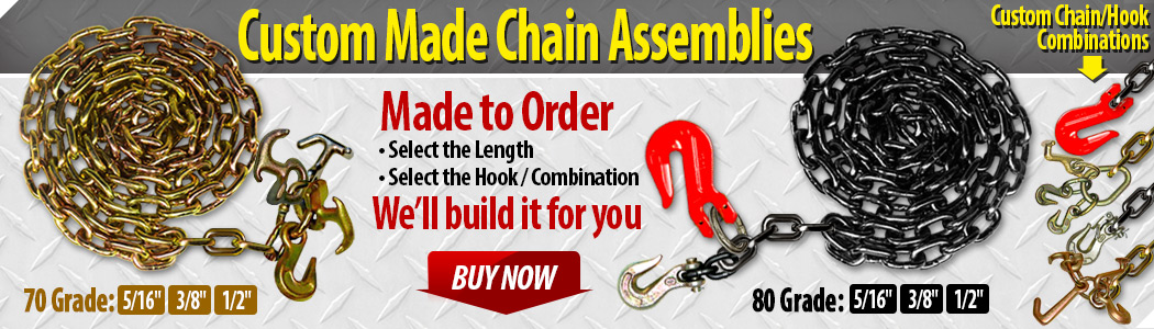 custom towing chains