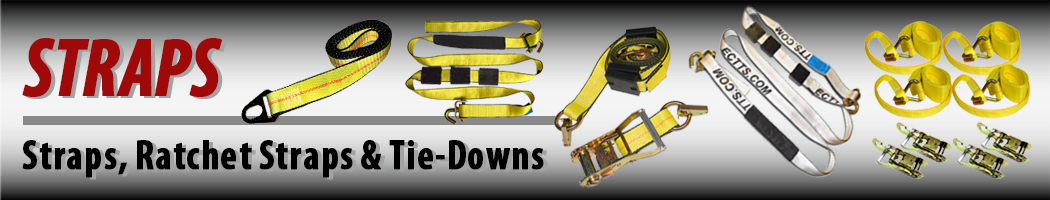 Axle Recovery Strap Car Transporter Strap 3 ft