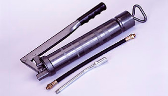 SIDE LEVER GREASE GUN c/w EXTENSION