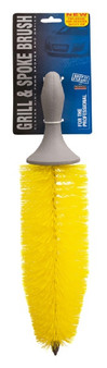 YELLOW GRILL AND SPOKE BRUSH