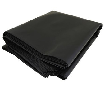 HEAVY DUTY BLACK BIN BAGS
