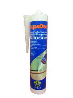 CLEAR HIGH PERFORMANCE MULTI-PURPOSE SILICONE