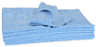BLUE EDGELESS MICROFIBRE