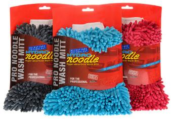 DOUBLE SIDED MICROFIBRE NOODLE WASH MITT