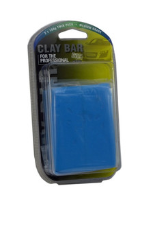2 X 100G MEDIUM GRADE CLAY BAR