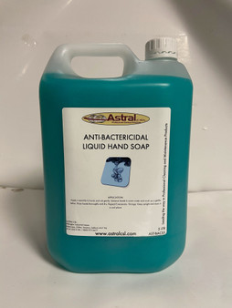 ASTRAL ANTI-BACTERICIDAL LIQUID HAND SOAP 5LTR