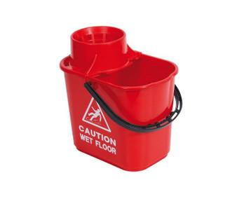 15L MOP BUCKET (PLASTIC) RED
