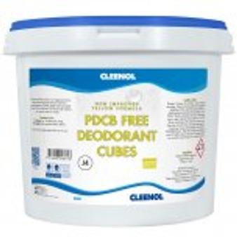 CLEENOL DEODORANT TOILET CUBES 3KG TUB