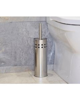 TOILET BRUSH SET -STAINLESS STEEL