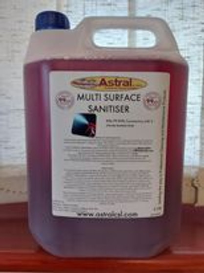 MULTI SURFACE SANITISER -RED  CONCENTRATED