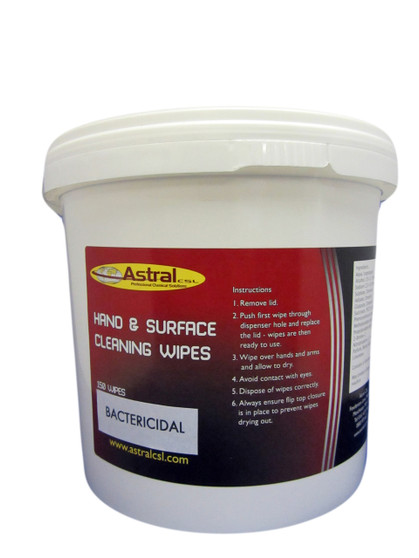 ASTRAL HAND & SURFACE CLEANING WIPES