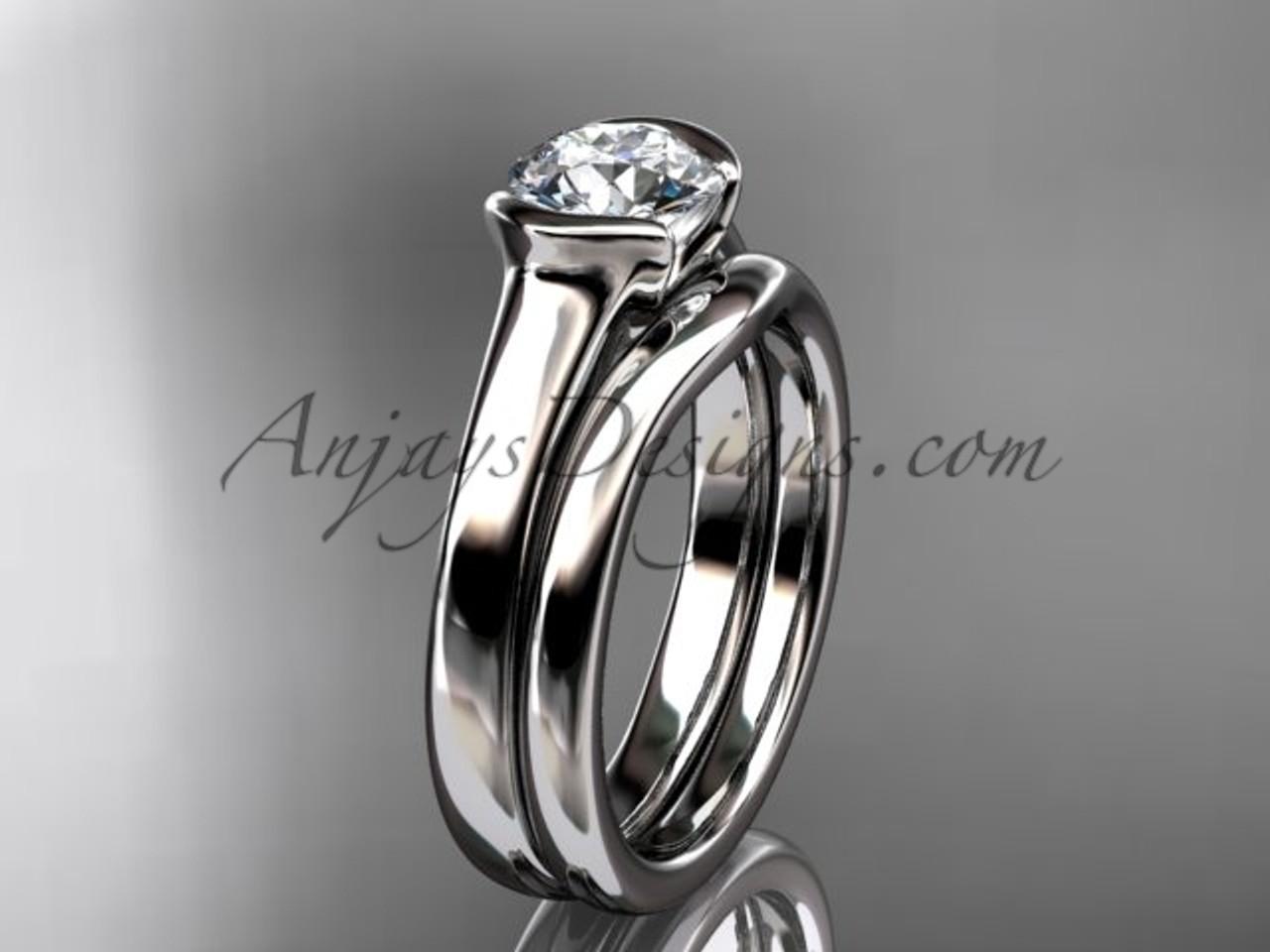 Platinum Wedding Rings.Beautiful Engagement Rings Platinum Wedding Ring Set Vd10016s